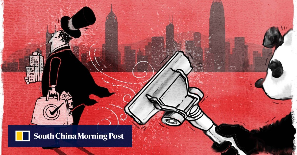 Image Hong Kong's 'kingmakers': will city's tycoons have their political wings clipped as Beijing pushes city on electoral reforms?