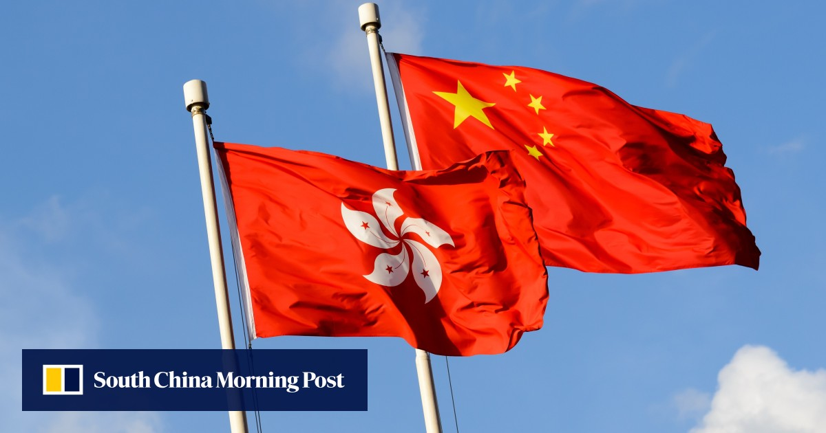 Man given 240 hours of community service for trashing state, Hong Kong flags