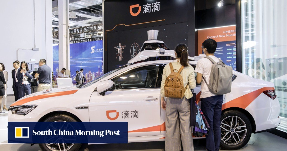 Didi files to raise US$4 billion in New York IPO, helping China's dominant  ride-hailing app catch up with Uber in value | South China Morning Post