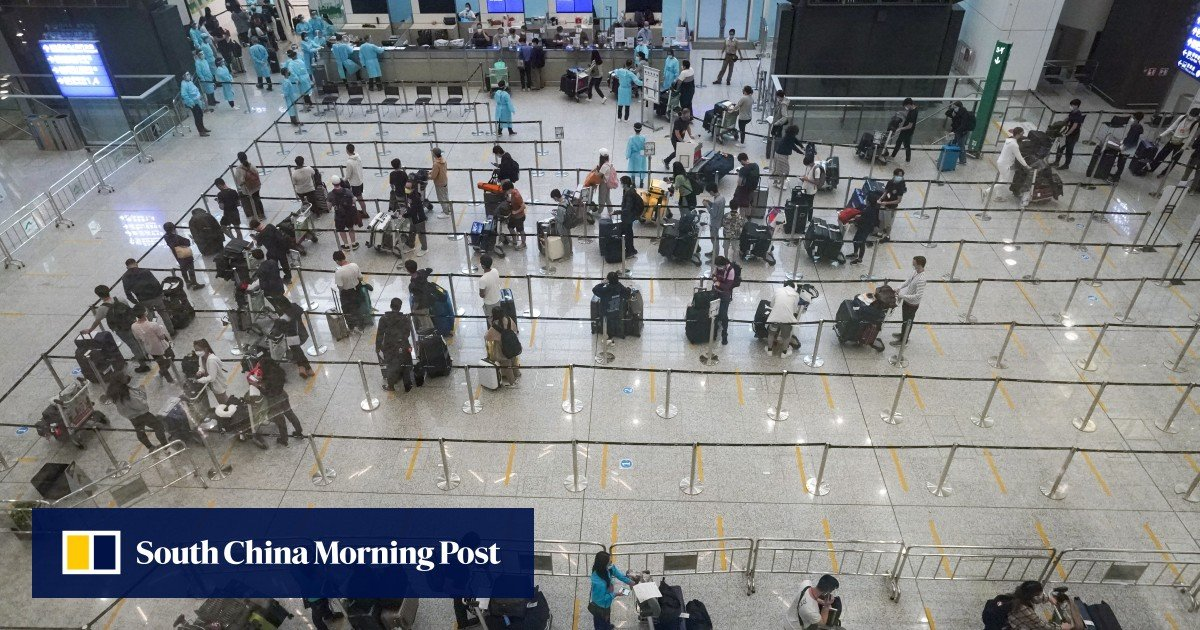 Image Hong Kong delays second phase of airport antibody testing scheme as concerns rise over coronavirus Delta variant