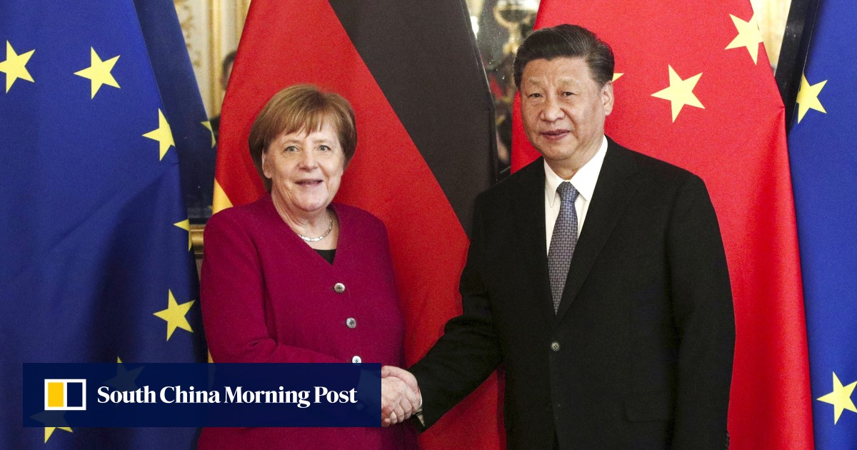 Photo of Merkel 'touts EU-China investment deal' in likely last call with Xi | South China Morning Post