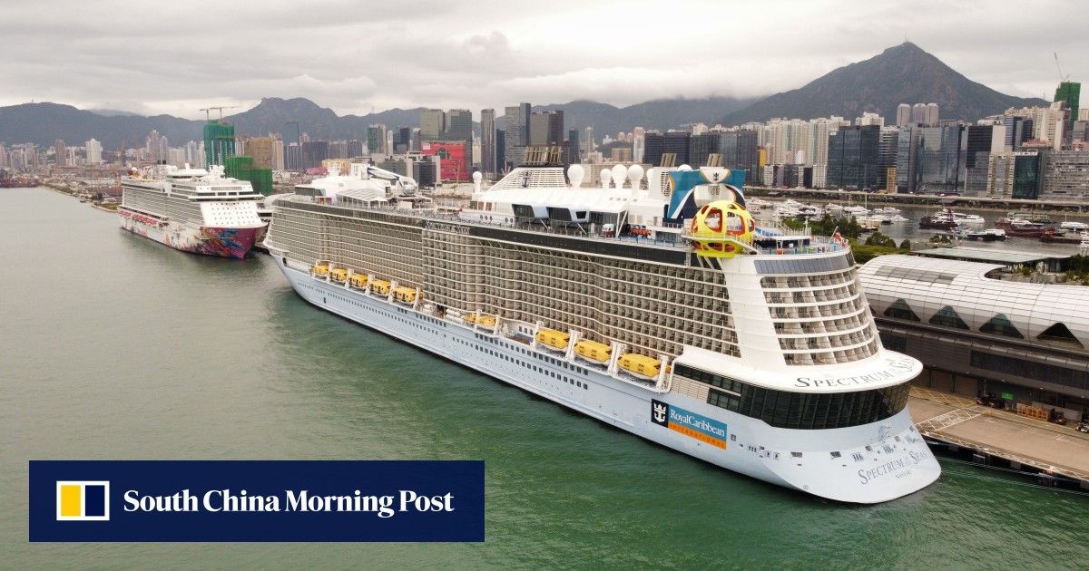 Image Coronavirus: Hong Kong 'cruise to nowhere' remains in doubt despite Royal Caribbean crew member's Covid-19 test potentially being a false alarm
