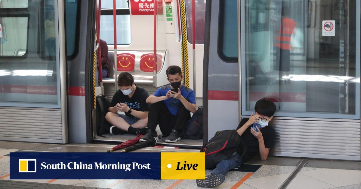 As it happened: Hong Kong disrupted as protesters begin day of