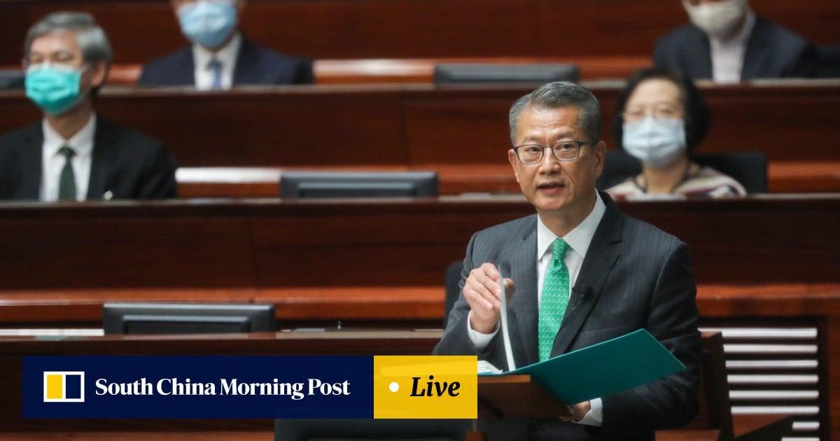 Hong Kong budget: deficit at record HK$257.6 billion, lower than previous estimate