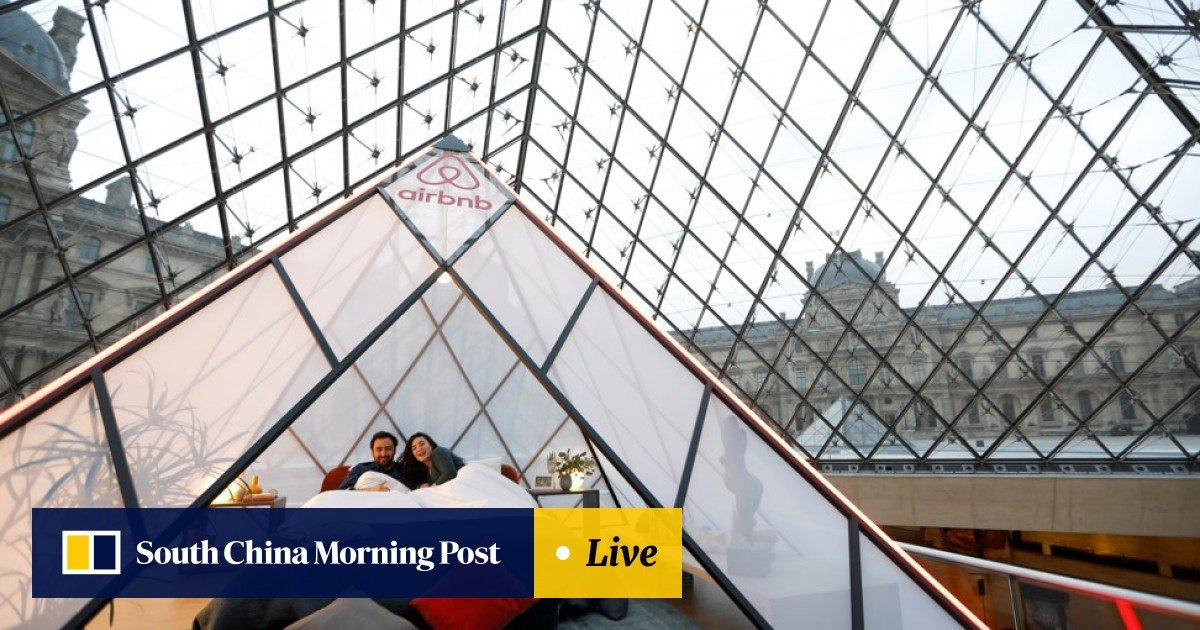Airbnb Louvre contest offers night at the museum with the
