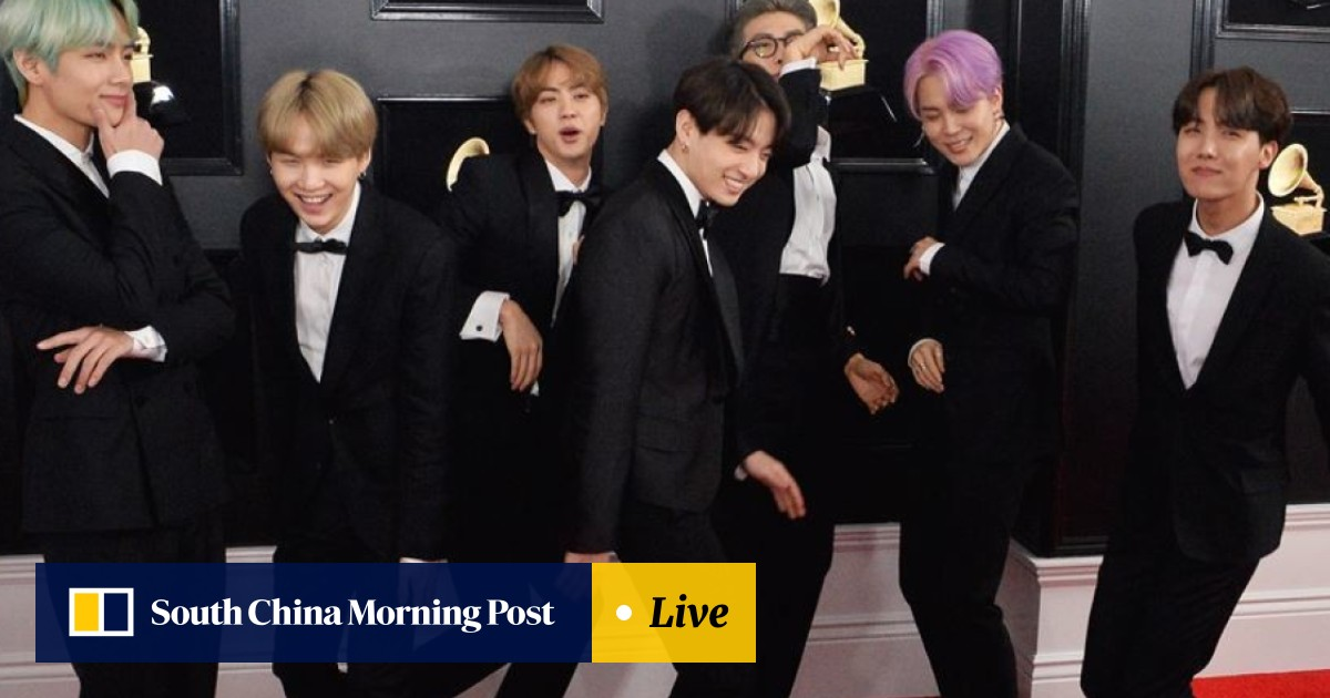 344222374f3ea K-pop group BTS is nominated for two honours – including  top social  artist  – at 2019 Billboard Music Awards