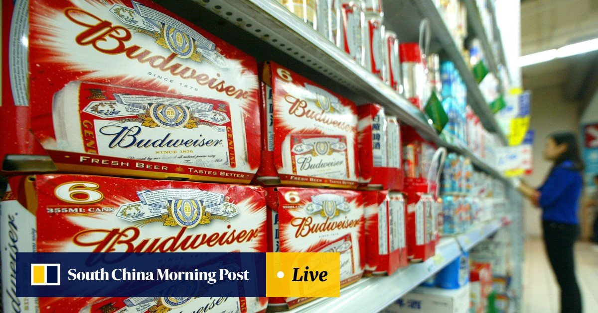 Budweiser beer maker AB InBev exploring IPO of Asian