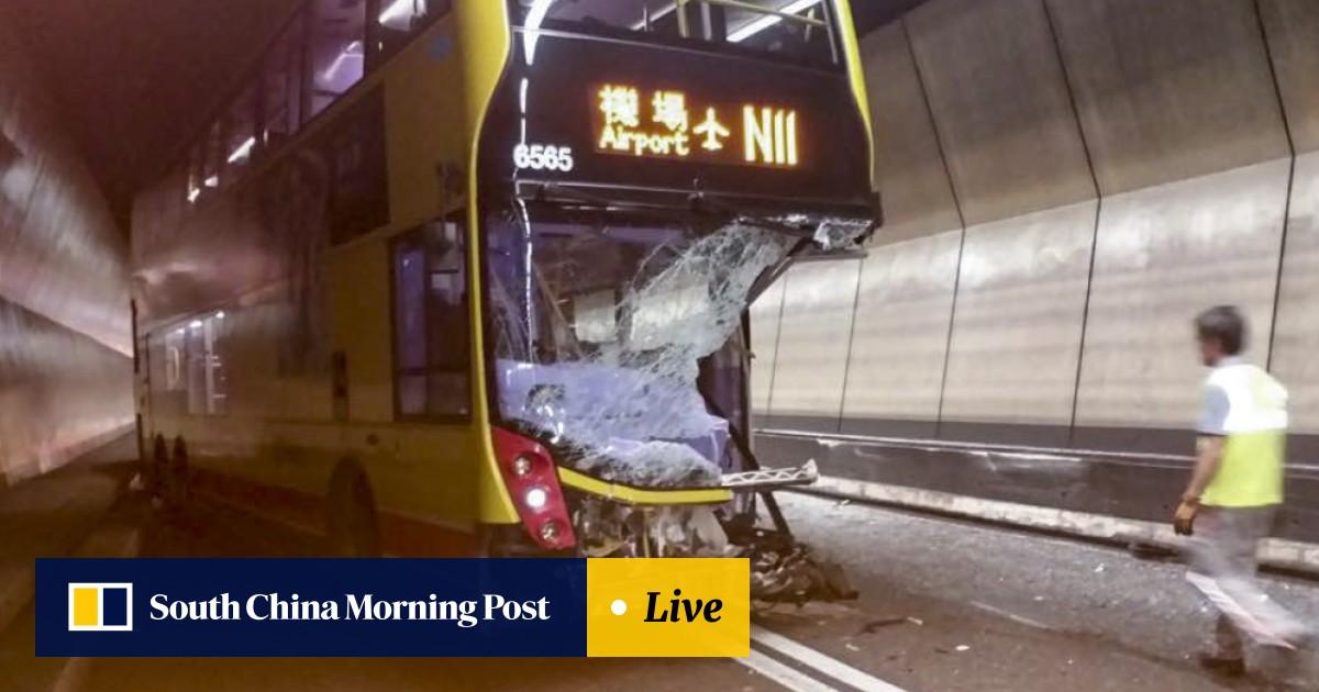 HK$3 million Bentley causes multi-car collision in Hong
