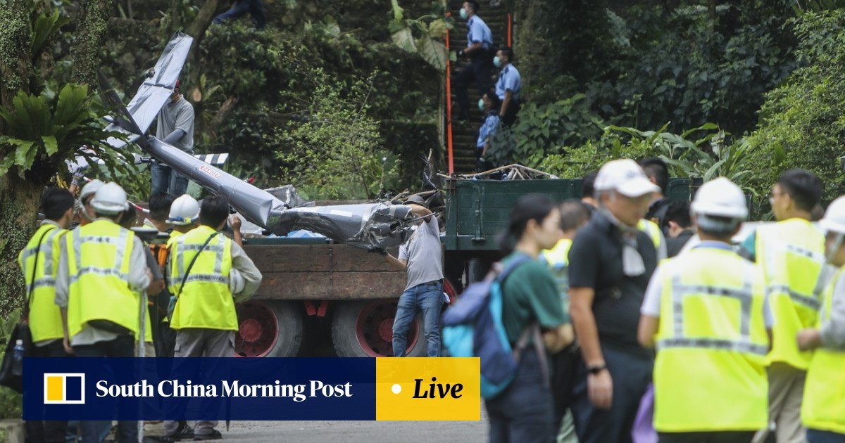 30688e5f97ca3 Hong Kong Aviation Club grounds all flights as investigation into  helicopter pilot s death gets under way