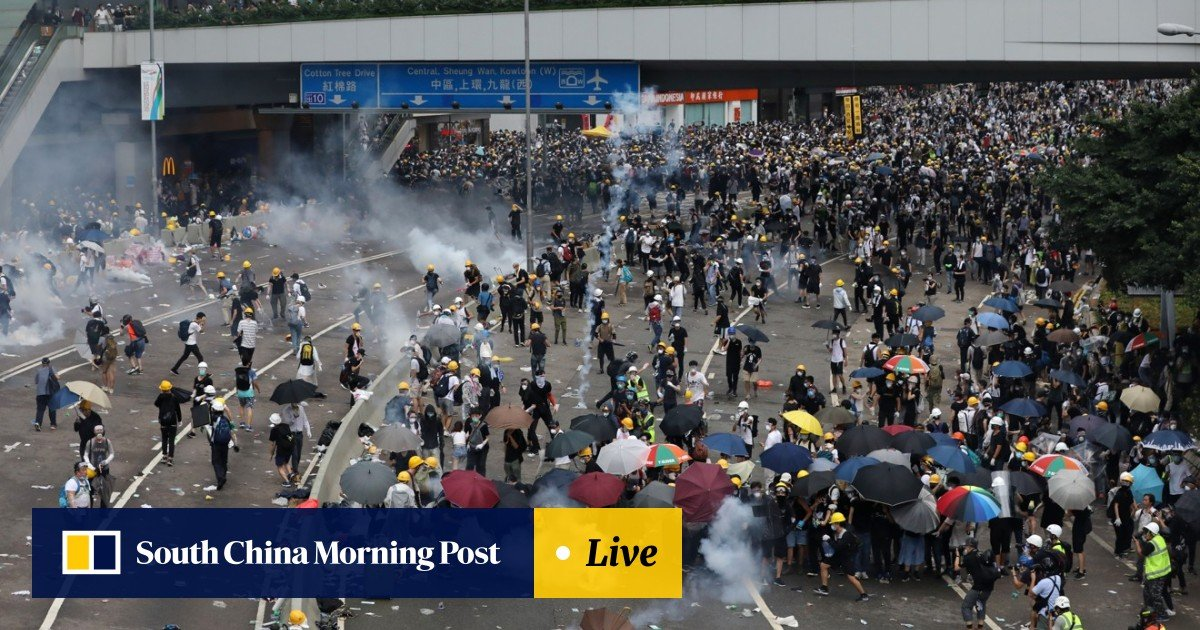 Hong Kong police switch to 'softly-softly' tactics to cool