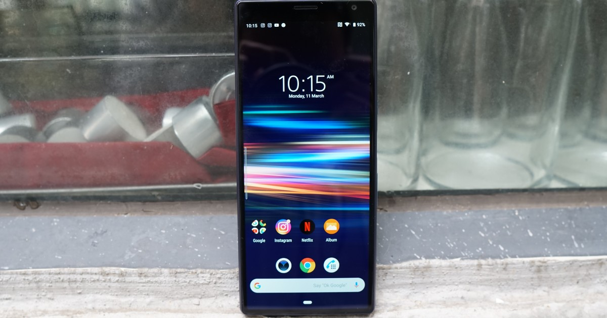 A great phone for watching movies, but Sony's Xperia 10 Plus is poor