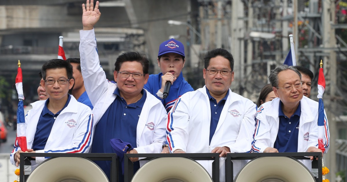 Thai Election Commission says junta-aligned Palang