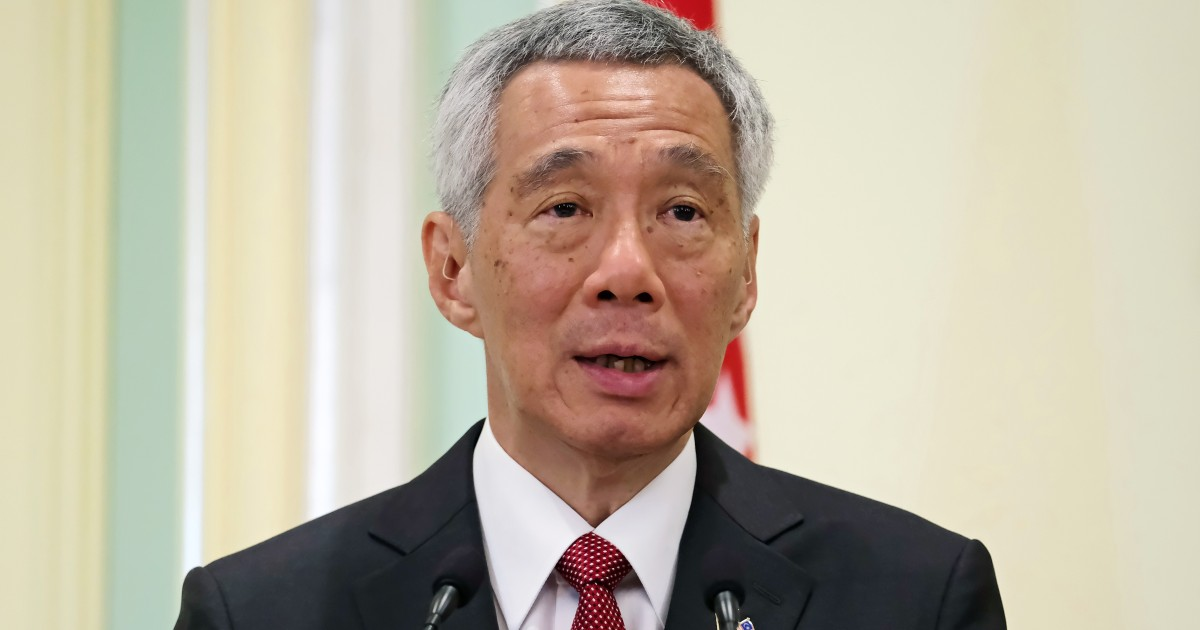 A step forward': Singapore Prime Minister Lee Hsien Loong