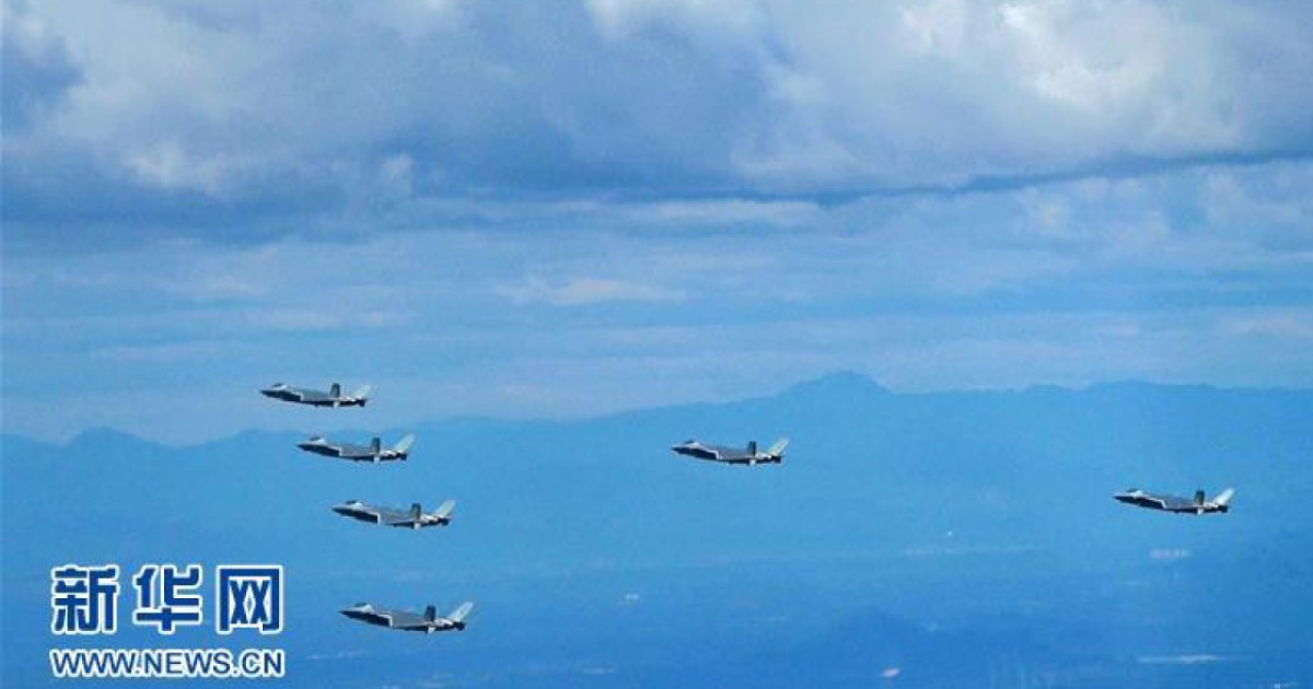 PLA Air Force formation 'a sign of stealth fighter mass