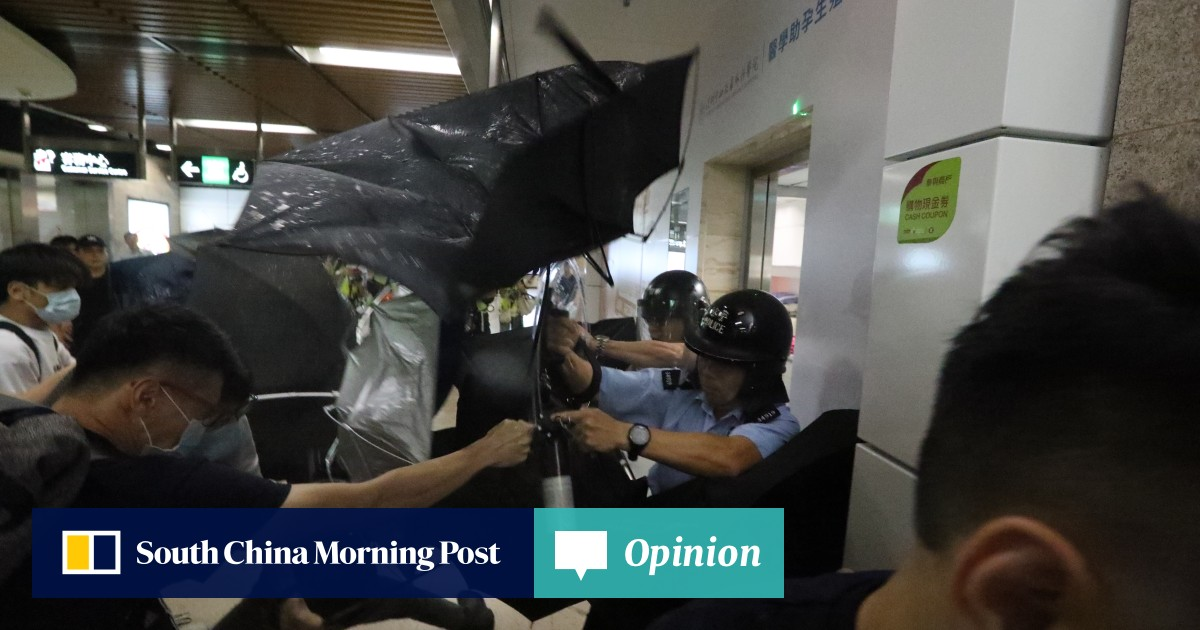 As it happened: violent clashes escalate in Hong Kong as