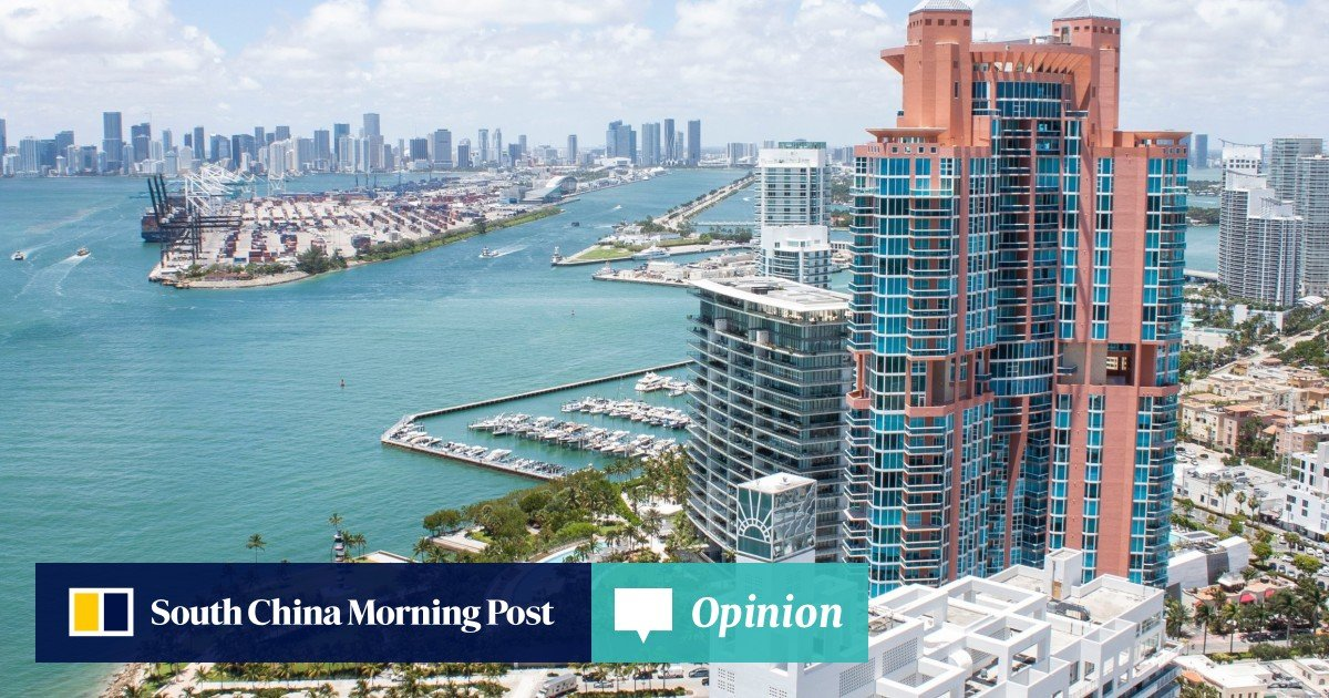 best cheap 46bde 8aba3 Mansion in the sky  Tour the US 48 million condo for sale in Miami   South  China Morning Post