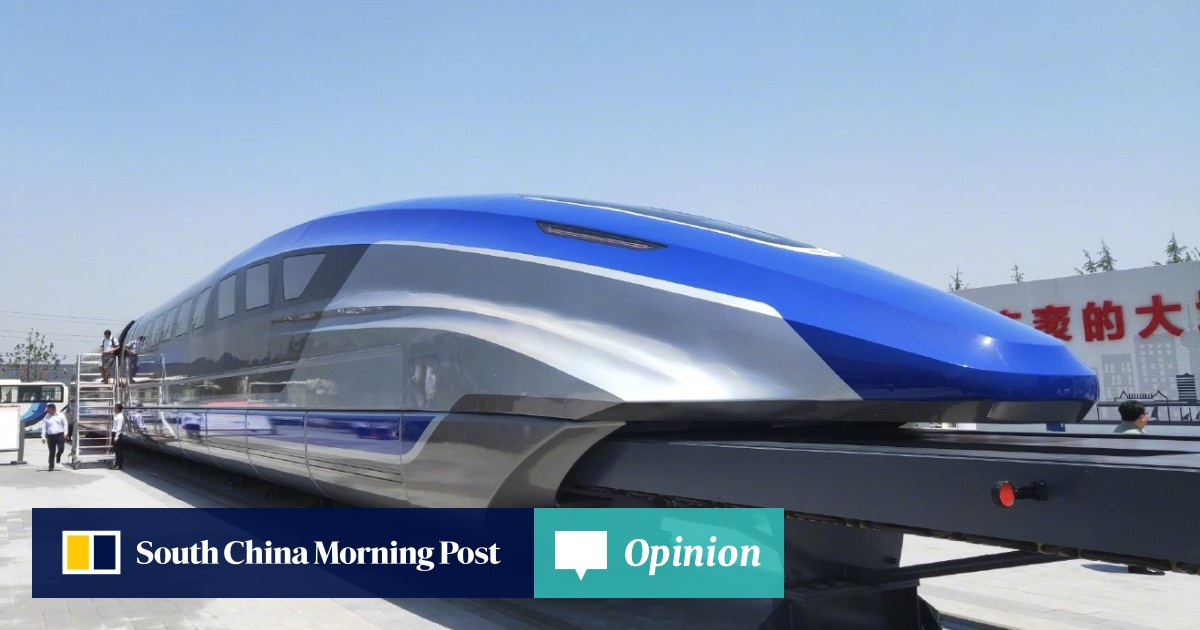 Will China's 600km/h maglev train bring air travellers down