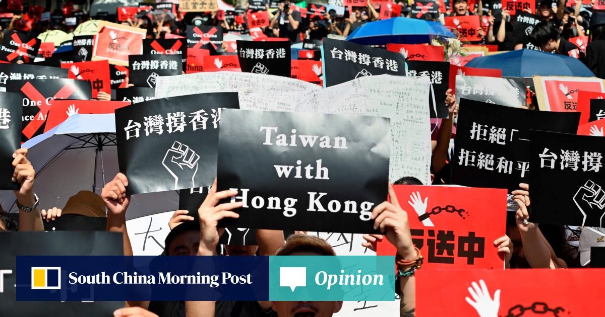 Hong Kong's extradition protests may have given Taiwan's