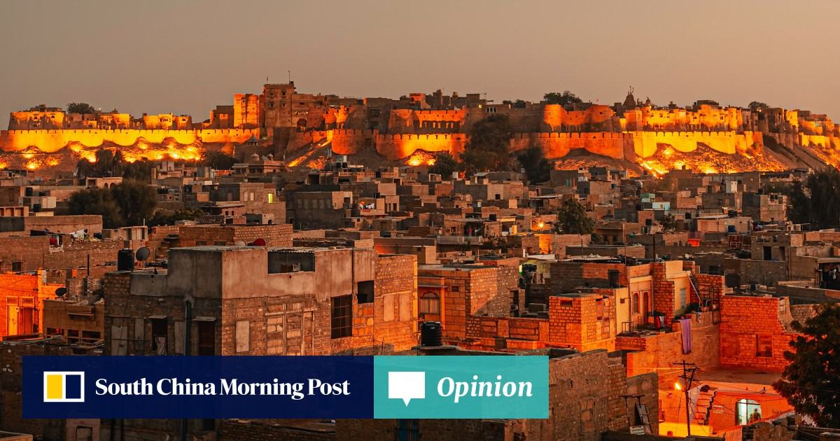 The 'Golden City' of India: exploring Jaisalmer's mansions