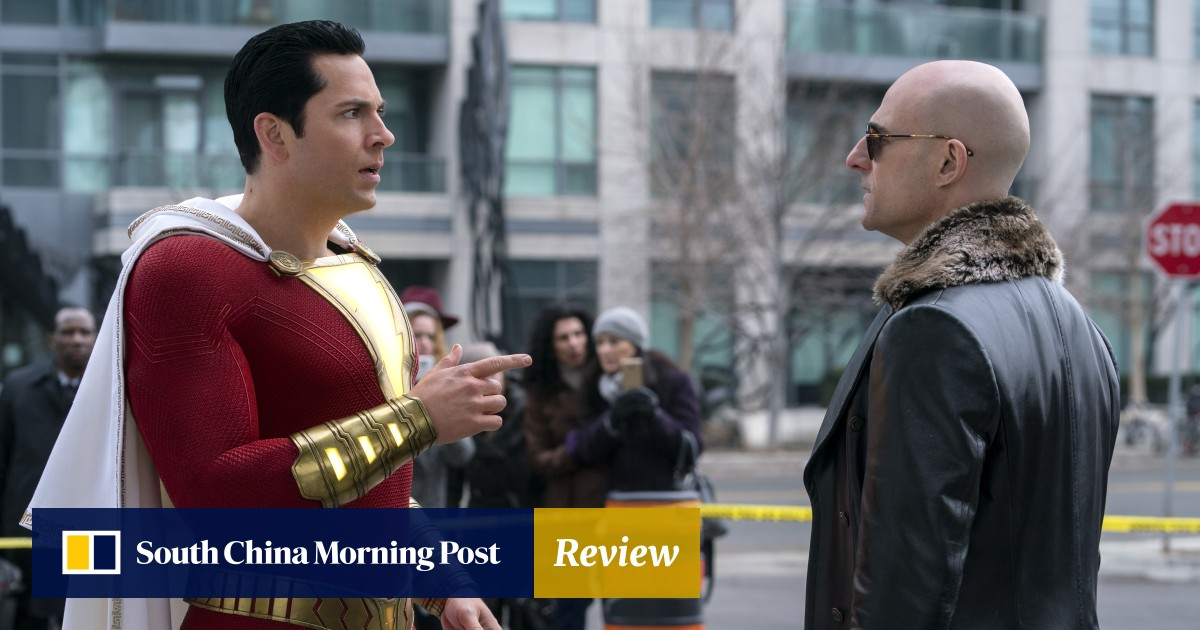 Movie Poster 2019: Shazam! Film Review: Entertaining DC Comics Superhero Is A