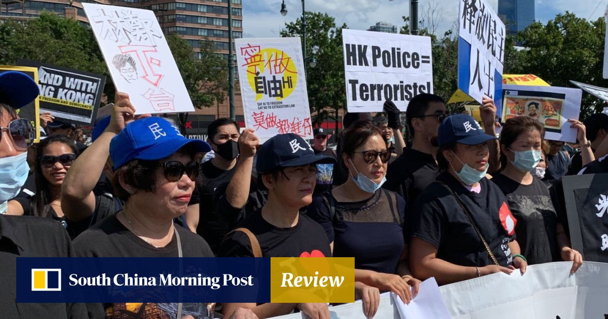 Taiwan, Tibet and Uygur expats join Hongkongers in New York