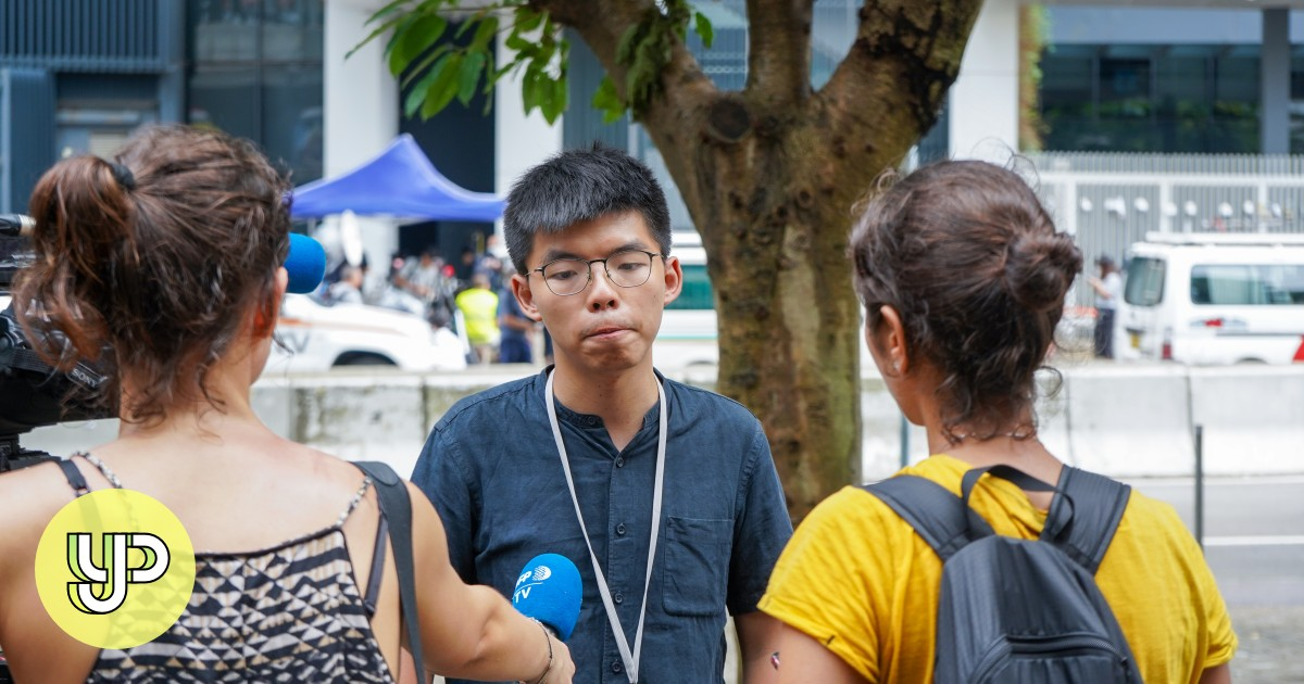 Hong Kong extradition bill: Democracy activist and 'umbrella movement' leader Joshua Wong says police have 'double standards' for different political camps