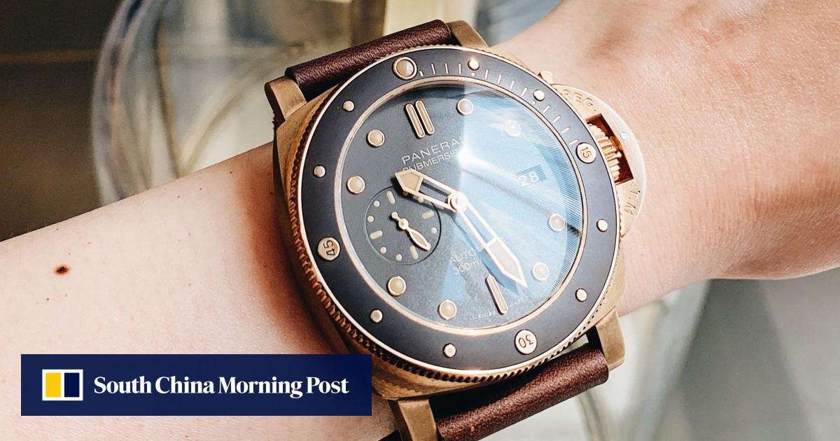 785287ea784 Panerai s new Bronzo PAM 968 Submersible  watch as we get hands-on with it