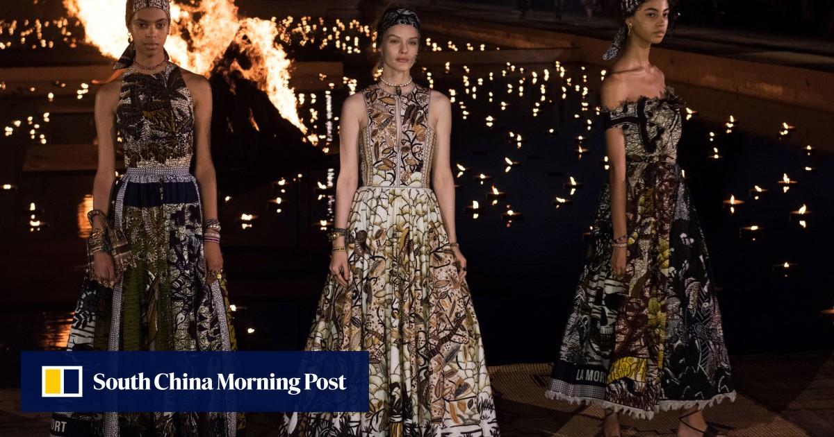 39407fb960d0 Stars Lupita Nyong'o and Jessica Alba shine as Dior's Cruise show lights up  Marrakech's night sky | South China Morning Post