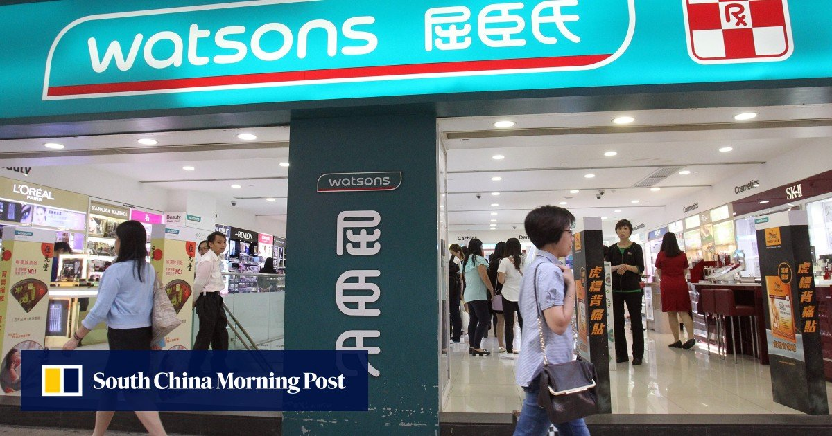 Protests take a toll on sales at Watsons, one of Hong Kong's