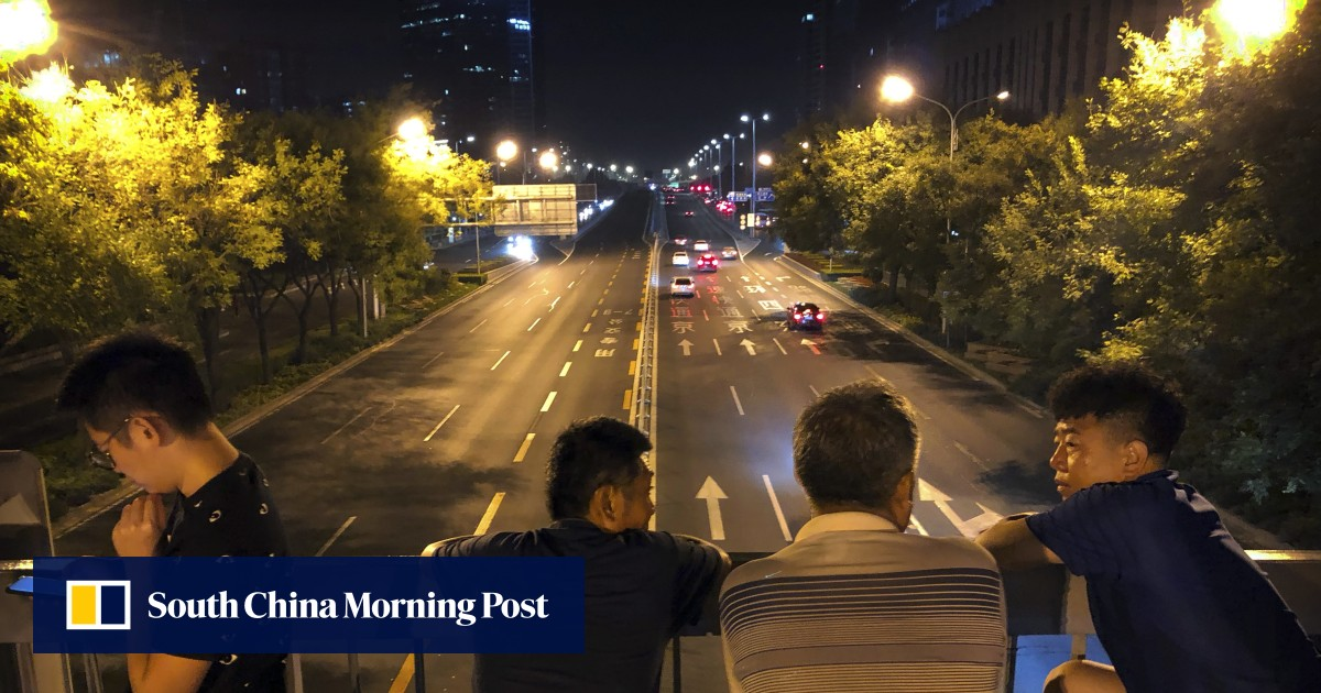 Central Beijing locked down as Chinese military practices