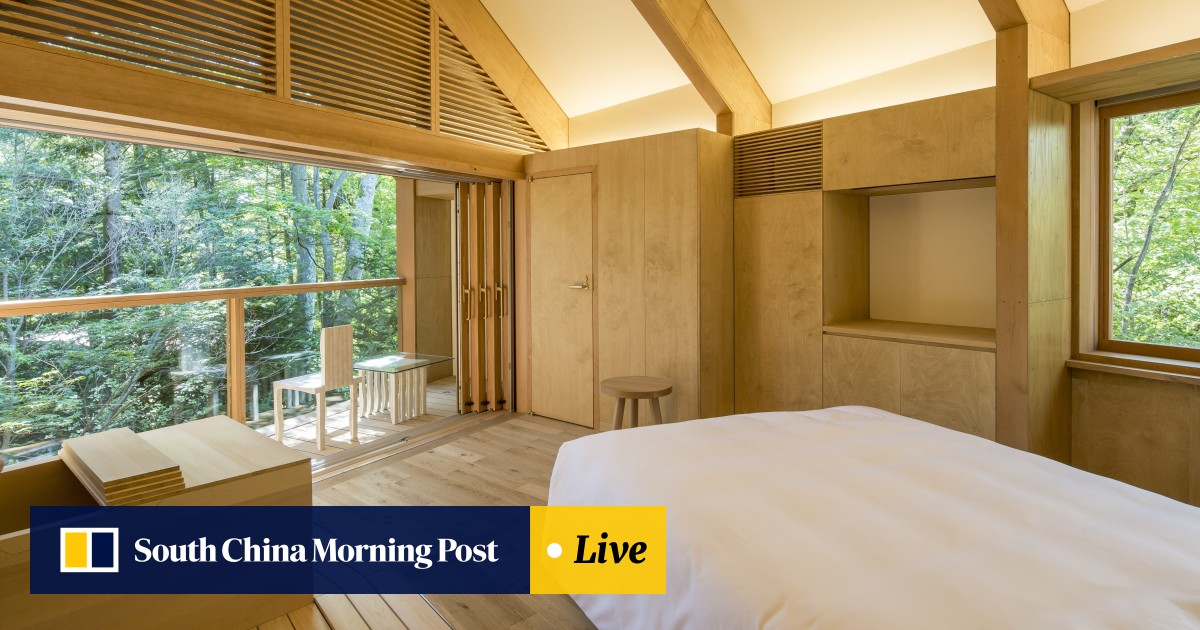 Shigeru Ban-designed boutique hotel challenges notions of