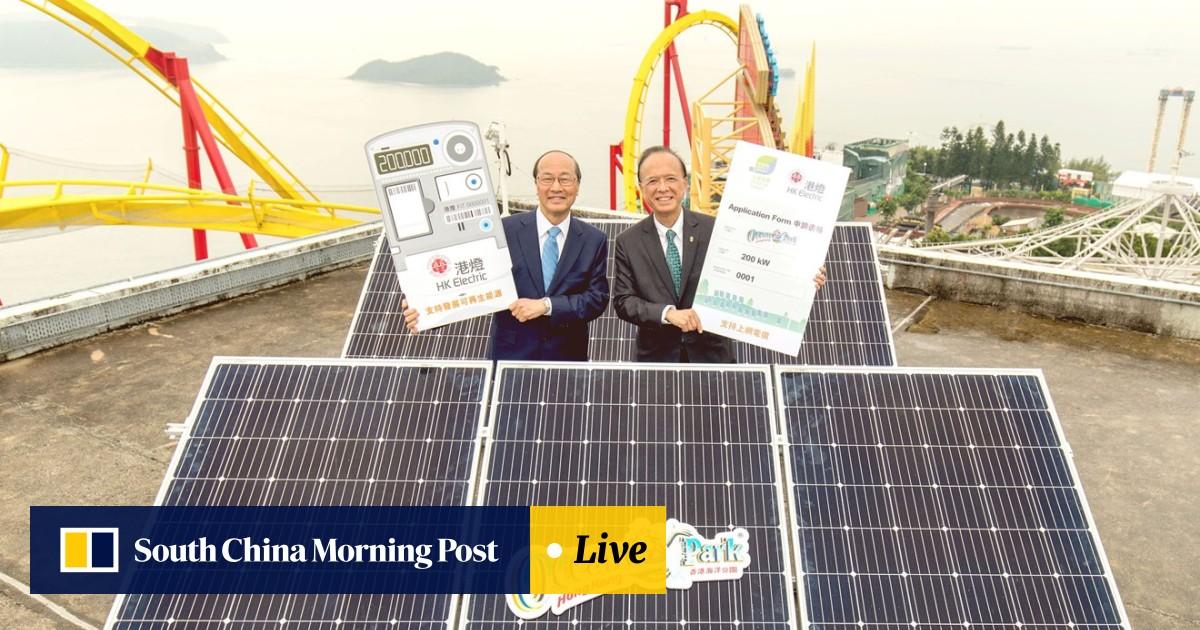 Hong Kong's Ocean Park will treble solar power capacity by 2020 to