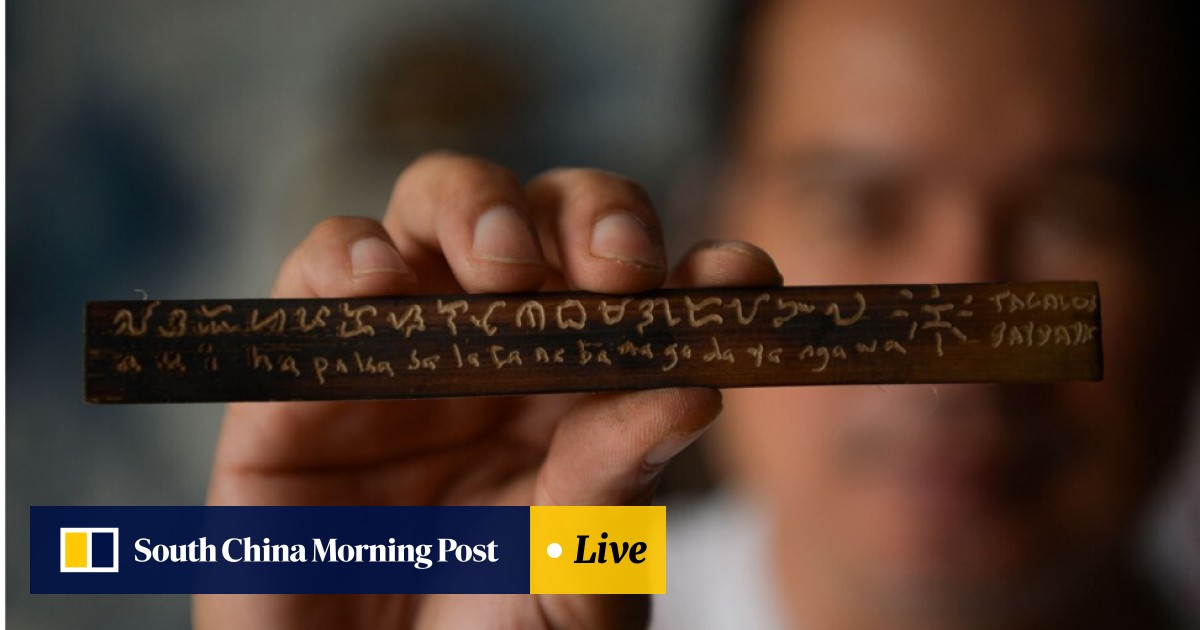 Baybayin, an ancient Philippine written script, is making a comeback
