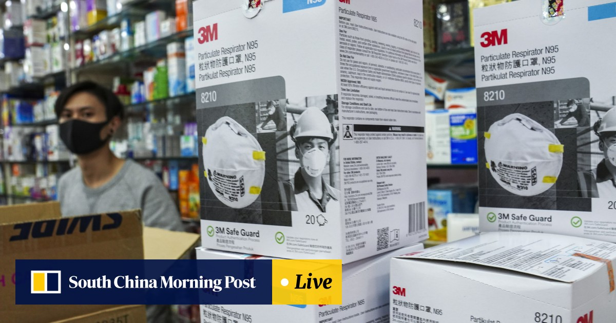 Supplies Of Low N95 Hong Mask As Wuhan Scare In Running Virus Kong