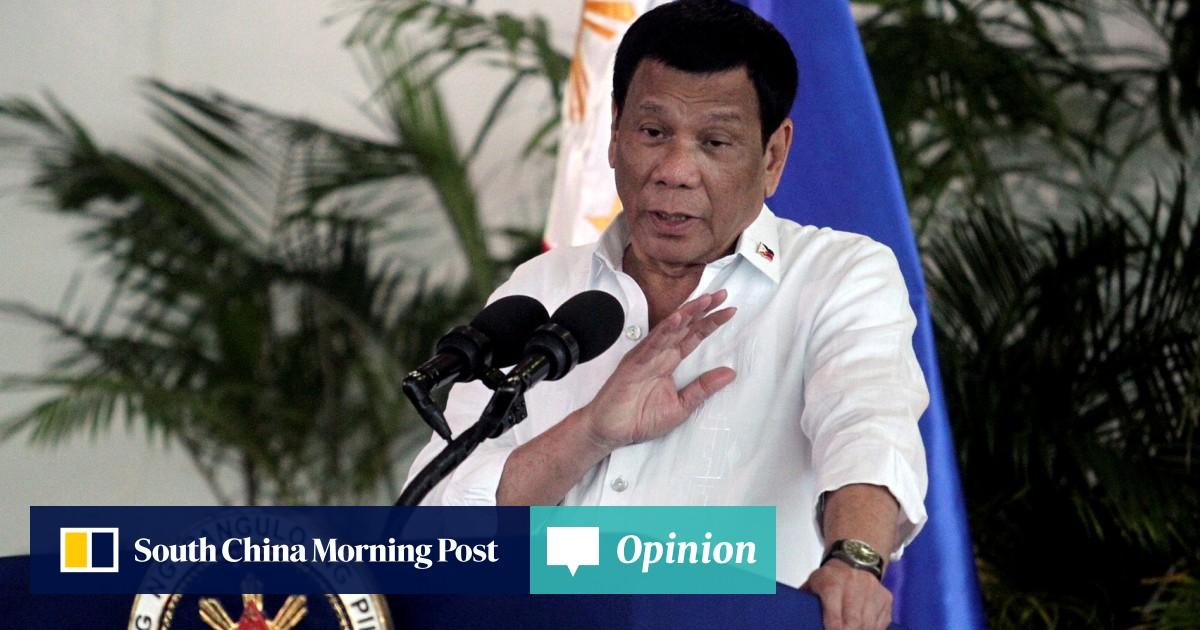 Philippine President Rodrigo Duterte tells China to 'lay off' island