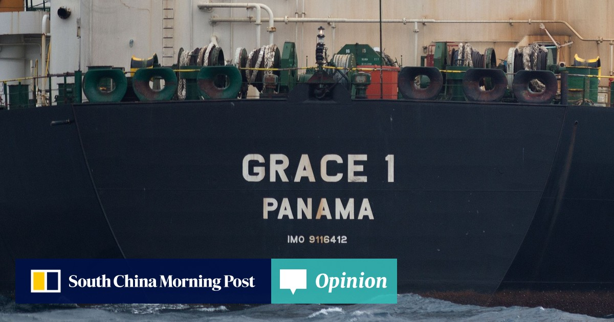 The detention of an Iranian oil tanker is a test case for