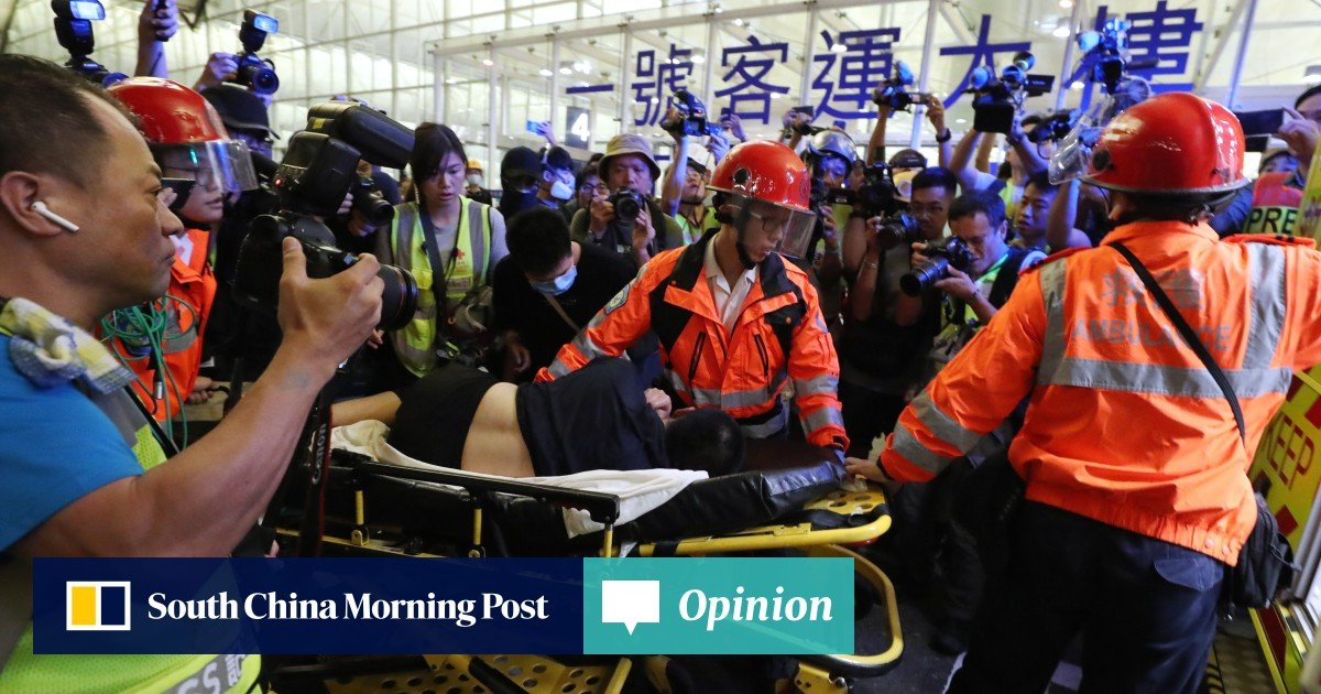 Hong Kong airport protest: how a terrifying night unfolded