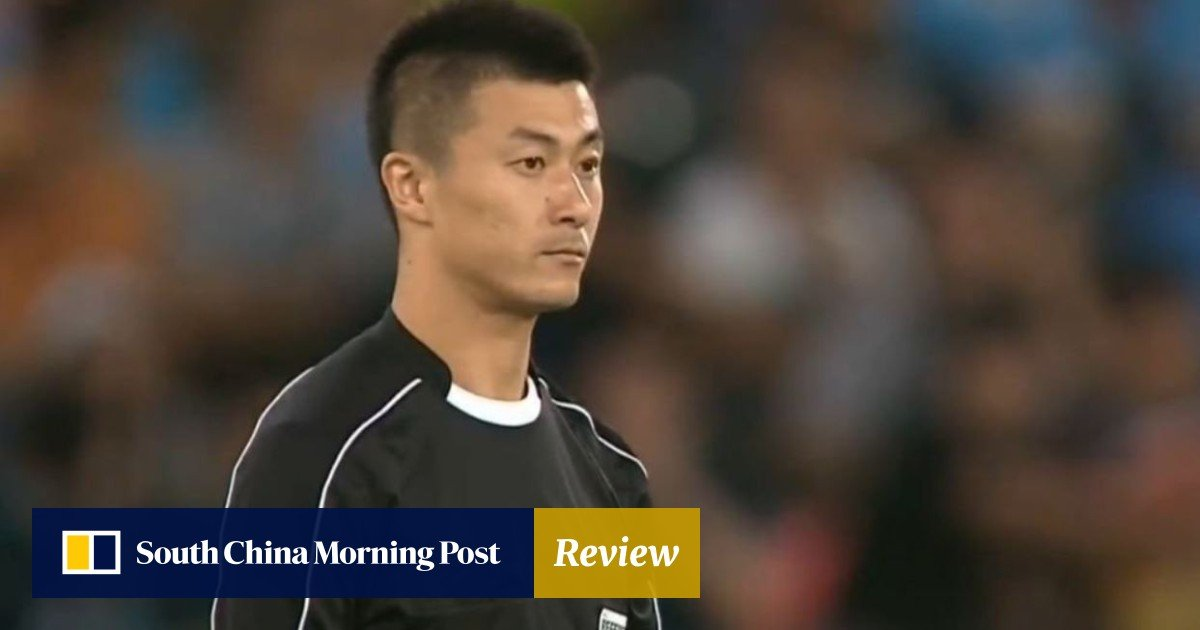 the latest de126 164d1 Chinese Fifa referee Fu Ming in spotlight as  underhand dealings  come to  light   South China Morning Post