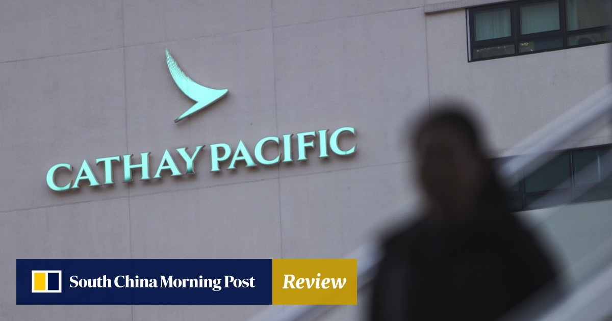 John Slosar resigns as chairman of Cathay Pacific Airways