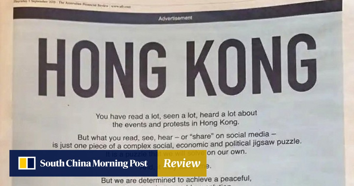 After extradition bill withdrawal, Hong Kong launches global