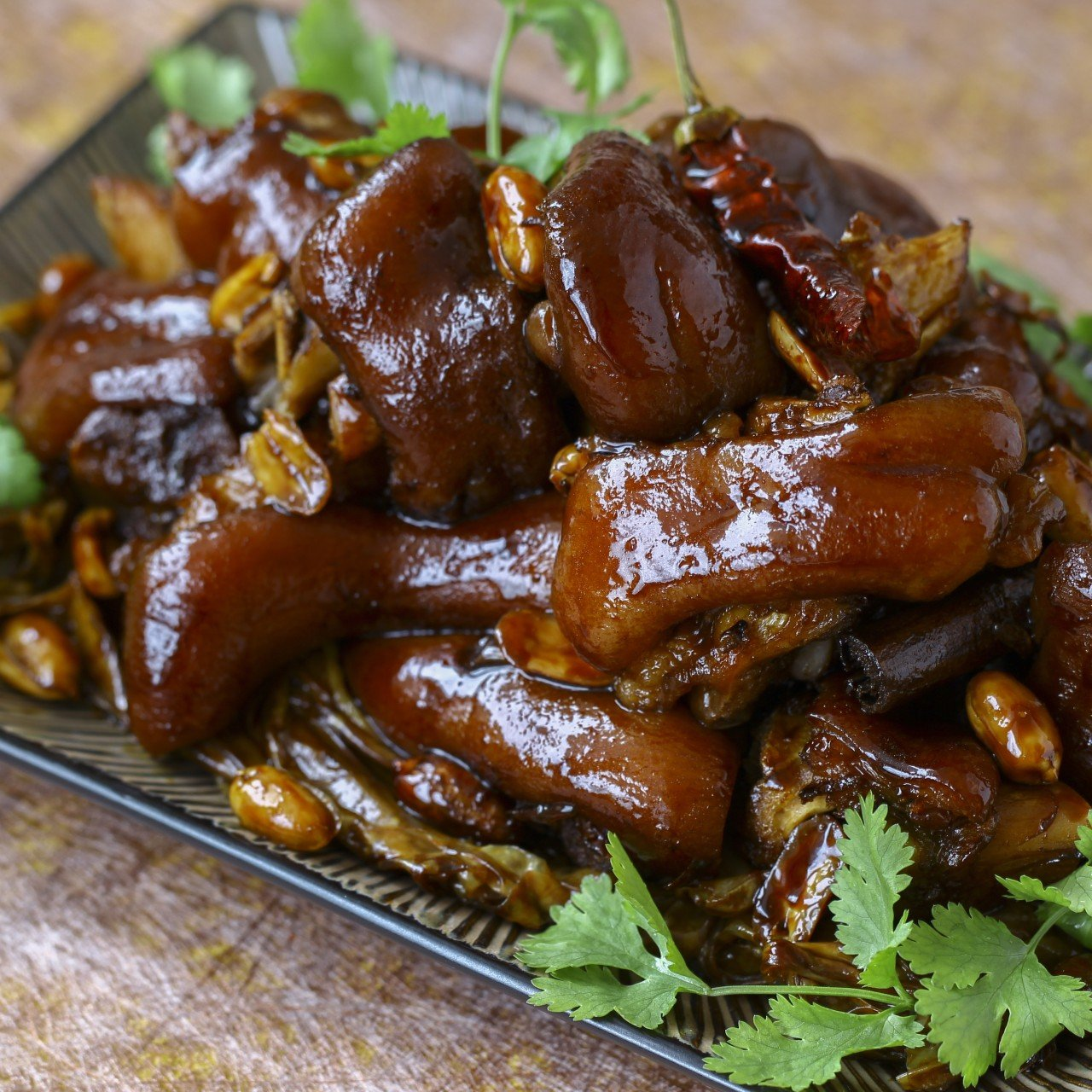Chinese Braised Pig S Feet With Soy Sauce And Spices Recipe Scmp Cooking