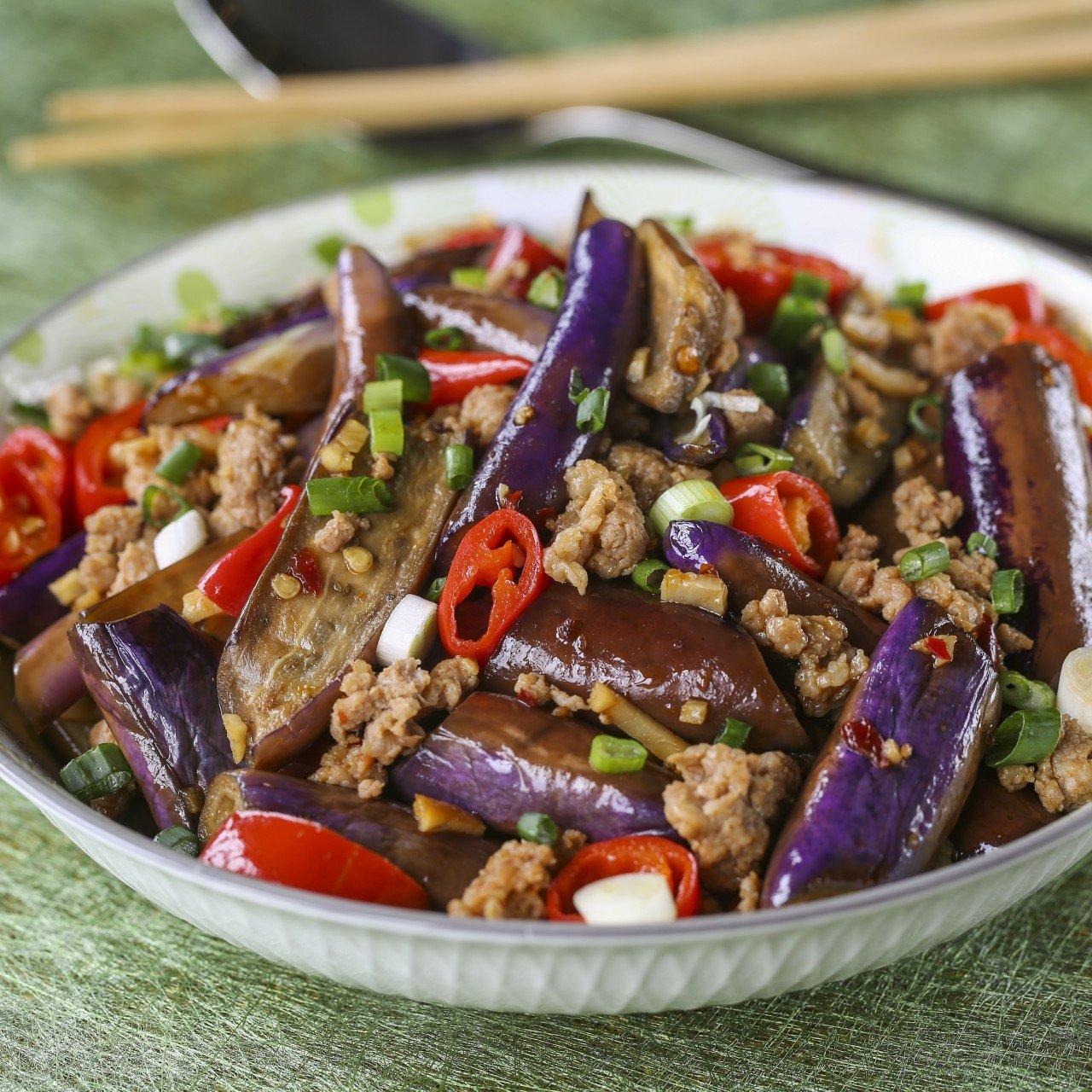 Hong Kong Style Fish Fragrant Eggplant Recipe Scmp Cooking,Fried Dumplings Drawing