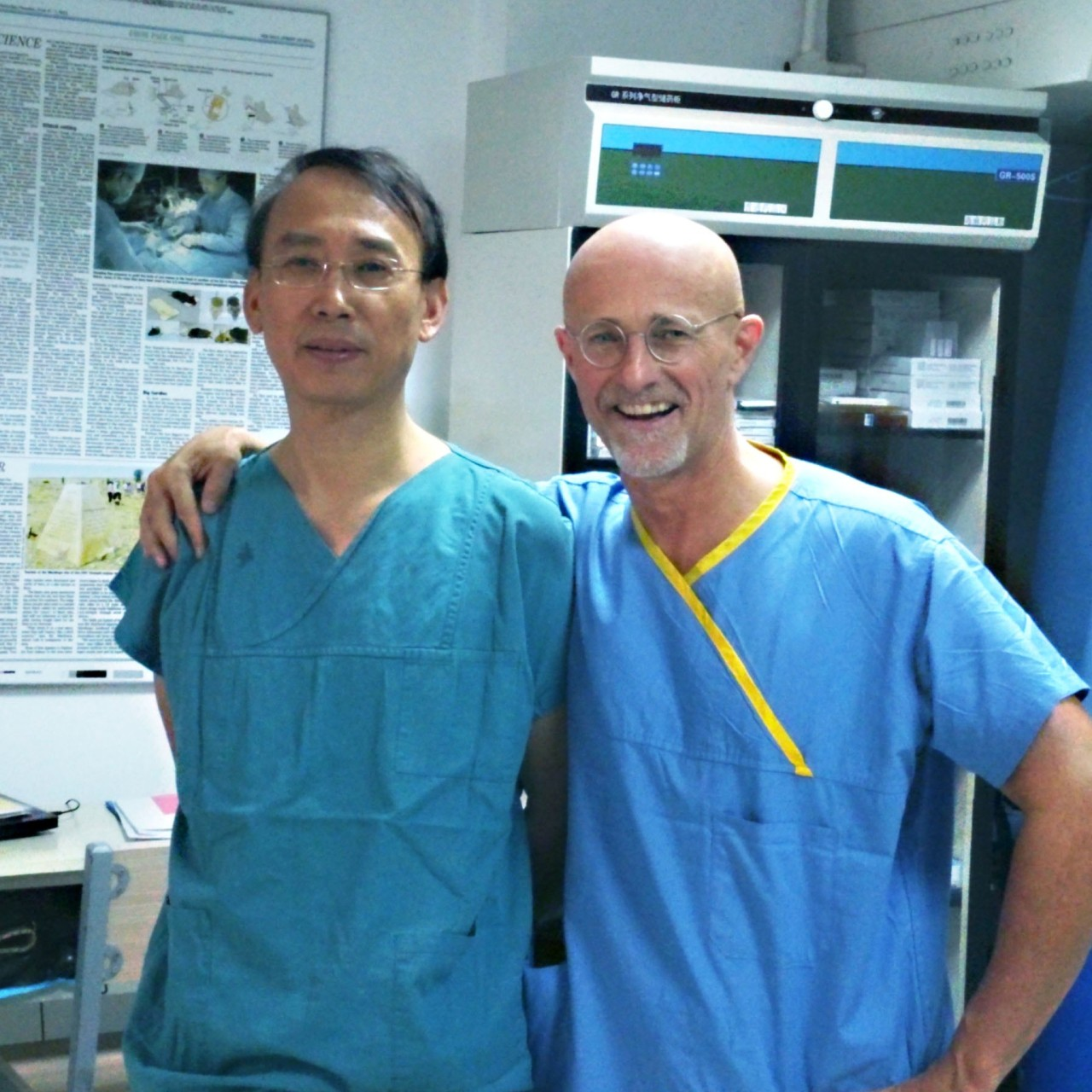 Head transplant breakthrough claimed: doctors Ren Xiaoping and