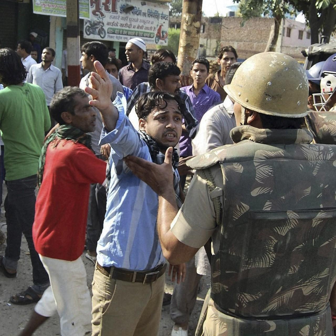 Muslim-Hindu violence in Uttar Pradesh helped India's Modi take