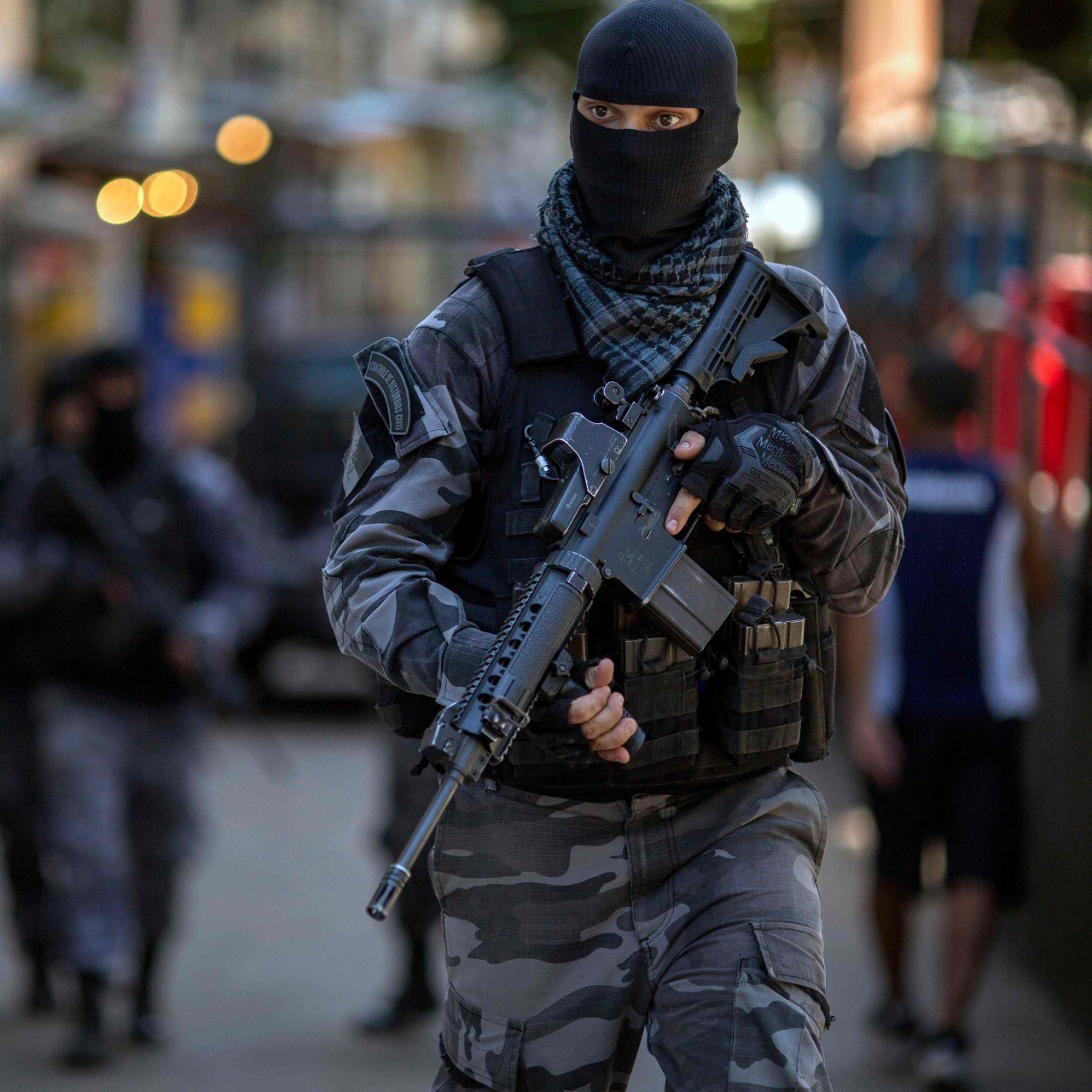 Secret snipers' deployed in Brazil's Rio de Janeiro to take