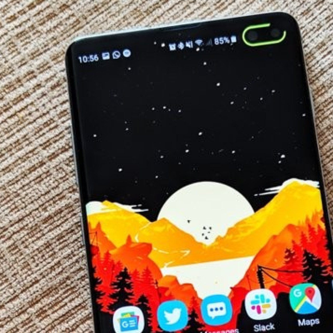 This app for Samsung's new Galaxy S10 phones makes great use