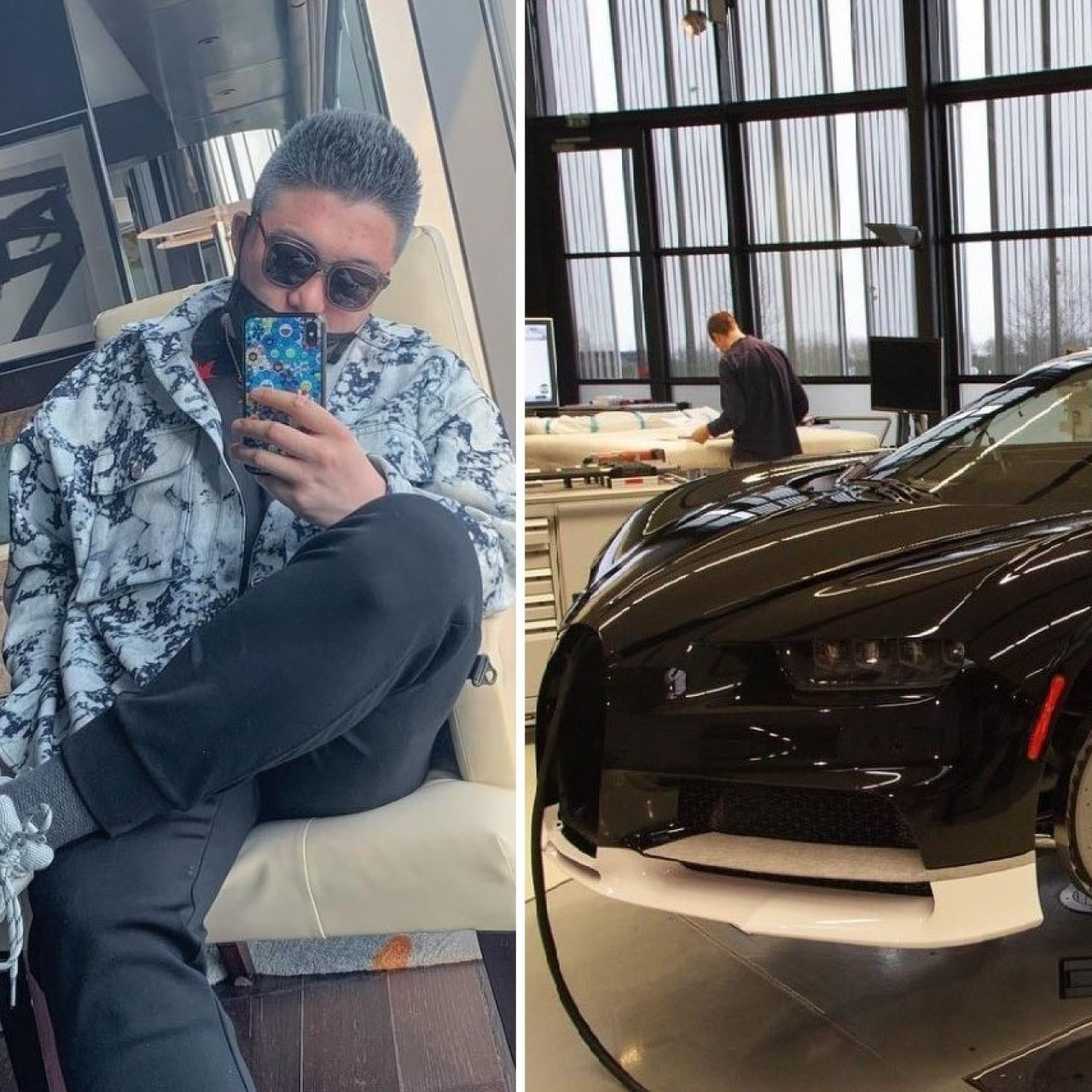 a99ffa340e8db Chinese tycoon's son buys US$3.8 million Bugatti Chiron in Vancouver ...