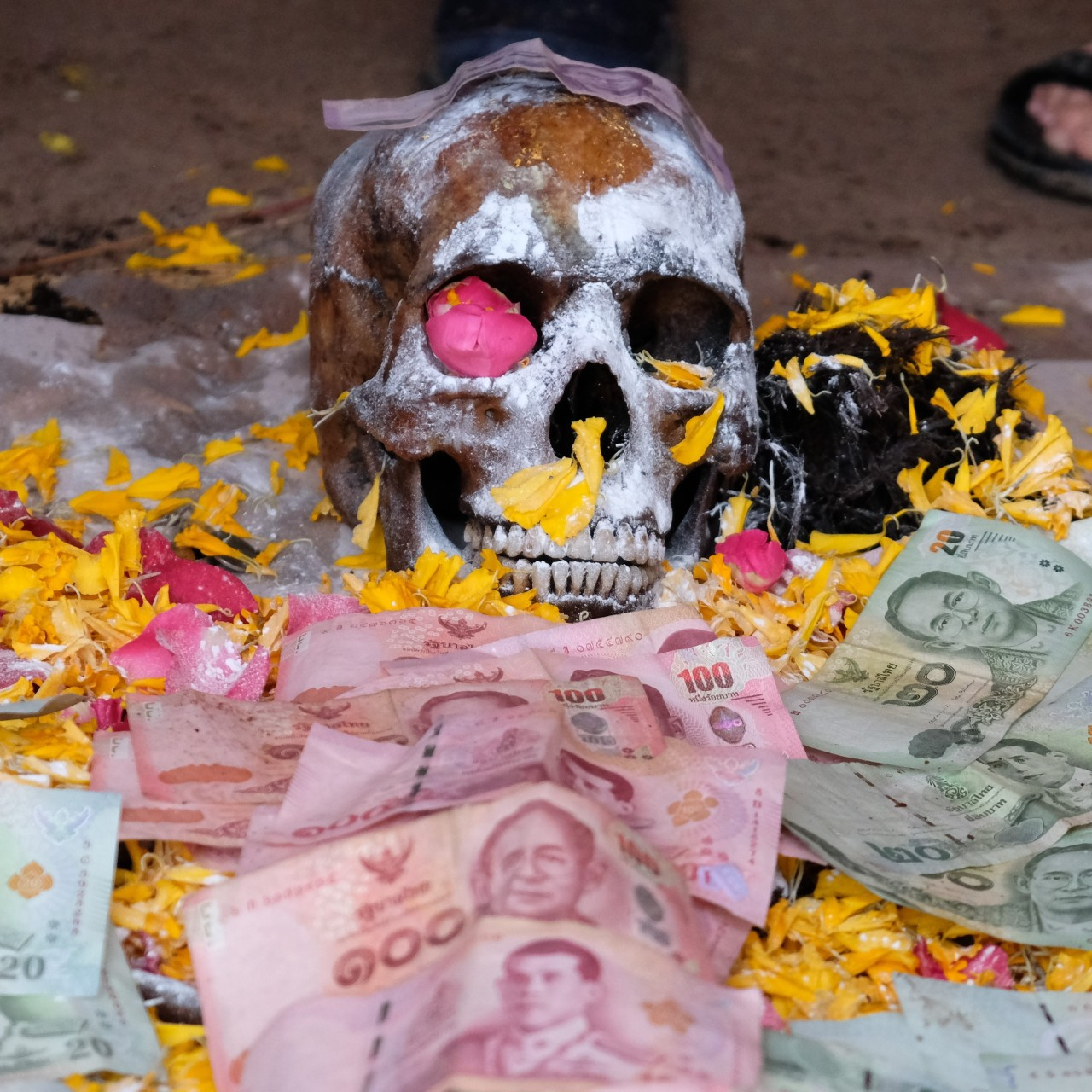 Digging up the dead: the Thai ceremony to pamper neglected human