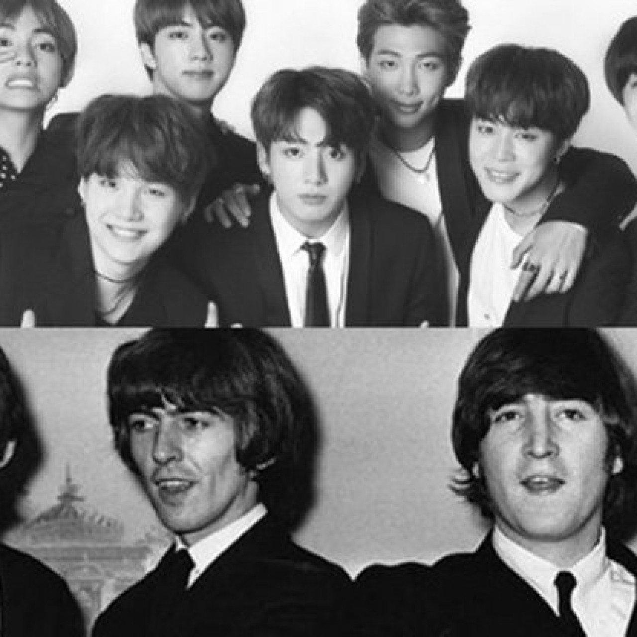Bigger than The Beatles? BTS celebrates 3 Billboard No 1