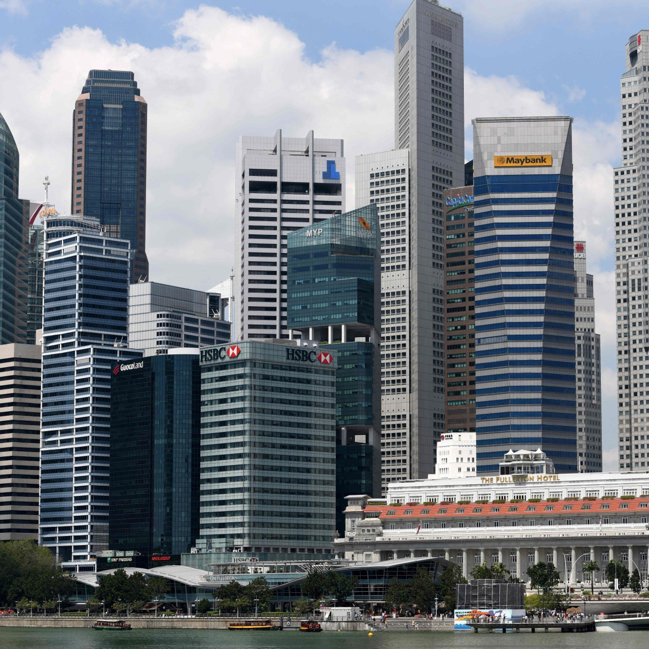 Ageing buildings in Singapore's business district get a